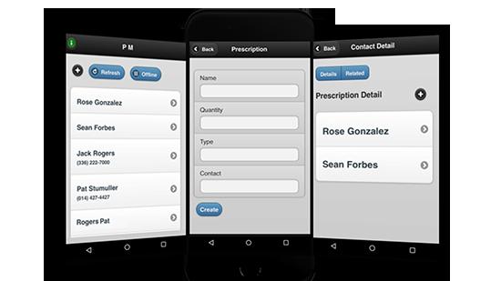 offline mobile app